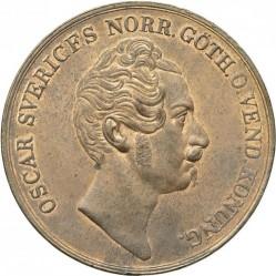 Монета > 4скилингбанко, 1849-1855 - Швеция  - obverse