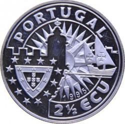 Moneda > 2½ECU, 1995 - Portugal  (Europa y el Nuevo Mundo - Vasco Da Gama) - obverse