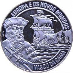 Moneda > 2½ECU, 1995 - Portugal  (Europa y el Nuevo Mundo - Vasco Da Gama) - reverse