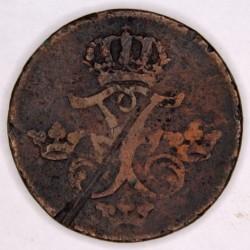 Moneta > 1erėSM, 1730-1750 - Švedija  - obverse