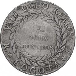 Pièce > 8reals, 1839-1846 - Colombie  - reverse