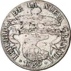 Moneta > 8reals, 1839-1846 - Colombia  - obverse