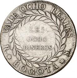 Moneta > 8reals, 1839-1846 - Colombia  - reverse