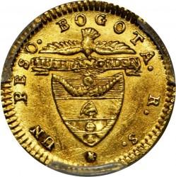 Münze > 1Peso, 1837-1846 - Kolumbien  - reverse