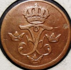 Moeda > 1öreSM, 1730-1750 - Suécia  - obverse