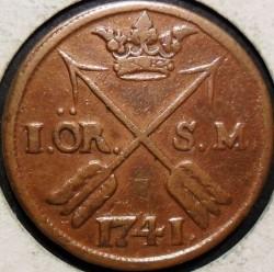 Moeda > 1öreSM, 1730-1750 - Suécia  - reverse