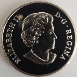 Moneda > 20dólares, 2012 - Canadá  (Aster y abejorro) - obverse