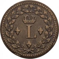 Moneda > 1decime, 1814-1815 - Francia  - obverse