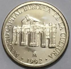 Монета > 1ЕКЮ, 1992 - Испания  (Madrid - European Capital of Culture /unc/) - reverse
