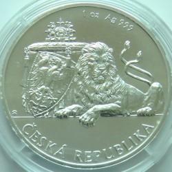 Монета > 2долара, 2018 - Ниуе  (Czech Lion) - reverse