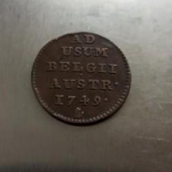 Monēta > 1liard, 1749-1752 - Austrian Netherlands  - obverse