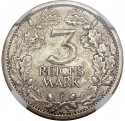 Monēta > 3reihsmarkas, 1931-1933 - Vācija  - reverse