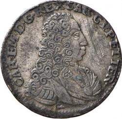 Moneta > 5soldi, 1732-1740 - Sardegna  - obverse