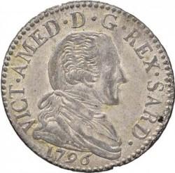 Монета > 20сольдо, 1794-1796 - Сардинія  - obverse