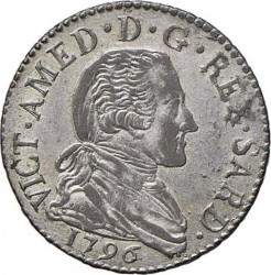 Moneta > 20soldi, 1794-1796 - Sardynia  - obverse
