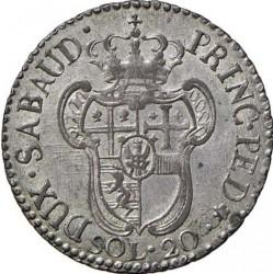 Moneta > 20soldi, 1794-1796 - Sardynia  - reverse