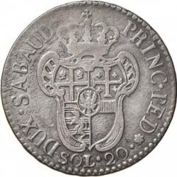 Νόμισμα > 20Σόλιδοι, 1794-1796 - Σαρδηνία  - reverse