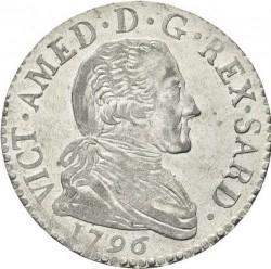 Moneda > 20sueldos, 1794-1796 - Cerdeña  - obverse