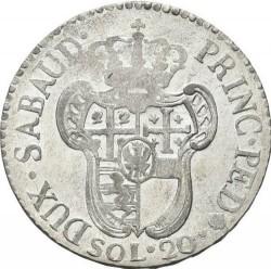 Moneda > 20sueldos, 1794-1796 - Cerdeña  - reverse