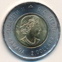 Moneta > 2dollari, 2019 - Canada  (75° anniversario - Sbarco in Normandia, Colorata) - reverse