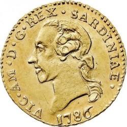 Մետաղադրամ > ¼դոպպիա, 1786 - Սարդինիա  - obverse