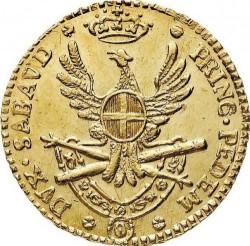 Մետաղադրամ > ¼դոպպիա, 1786 - Սարդինիա  - reverse