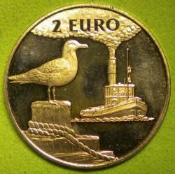 Монета > 2евро, 1997 - Нидерланды  (Внутренняя навигация /буксир/) - obverse