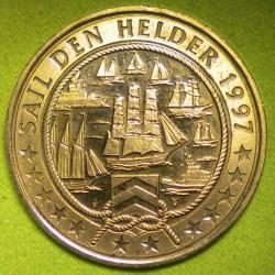 Монета > 2евро, 1997 - Нидерланды  (Внутренняя навигация /буксир/) - reverse