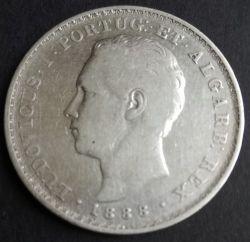 Монета > 500рейса, 1863-1889 - Португалия  - obverse