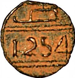 """Кованица > 1falus, 1837-1842 - Мароко  (Mintmark """"صا"""" - Za (Taourirt)) - reverse"""