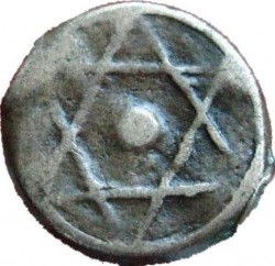 "Кованица > 1falus, 1837-1851 - Мароко  (Mintmark ""رباط"" - Rabat) - obverse"