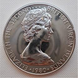 Кованица > 1долар, 1974-1983 - Британска Девичанска Острва  - obverse