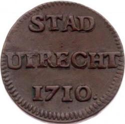 Moeda > 1duit, 1710-1724 - República Holandesa  - reverse