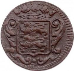 Moeda > 1duit, 1702-1724 - República Holandesa  - obverse