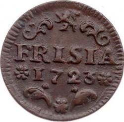 Moeda > 1duit, 1702-1724 - República Holandesa  - reverse
