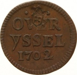 Νόμισμα > 1duit, 1702-1703 - Dutch Republic  - obverse