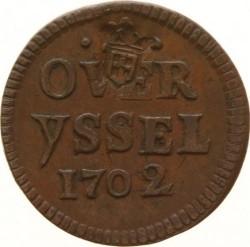 Νόμισμα > 1duit, 1702-1703 - Dutch Republic  - reverse
