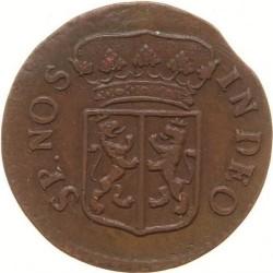 Moeda > 1duit, 1753-1757 - República Holandesa  - reverse