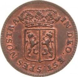 Moeda > 1duit, 1758-1768 - República Holandesa  - obverse