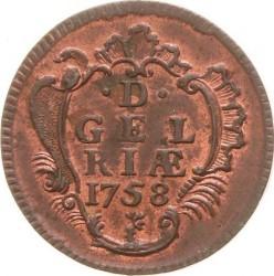 Moeda > 1duit, 1758-1768 - República Holandesa  - reverse