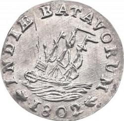 """Moneda > 1/16florines, 1802 - Indias Orientales Neerlandesas  (Lettering: """"INDIÆ BATAVORUM"""") - obverse"""