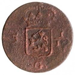 Монета > 1/16гульдена, 1802-1809 - Голландская Ост-Индия  - obverse