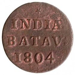 Монета > 1/16гульдена, 1802-1809 - Голландская Ост-Индия  - reverse