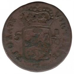 Монета > 1/16гулден, 1802-1809 - Нидерландска Източна Индия  - obverse