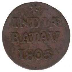 Монета > 1/16гулден, 1802-1809 - Нидерландска Източна Индия  - reverse
