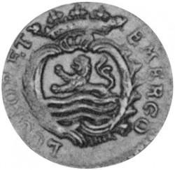 Moeda > 1duit, 1766-1792 - República Holandesa  - obverse