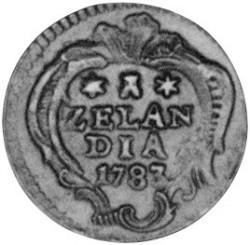 Moeda > 1duit, 1766-1792 - República Holandesa  - reverse