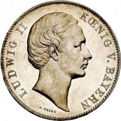 Кованица > 2вереиншталера, 1865-1869 - Bavaria  - obverse