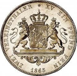 Кованица > 2вереиншталера, 1865-1869 - Bavaria  - reverse