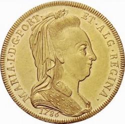 Монета > 1пека, 1786 - Португалия  - obverse